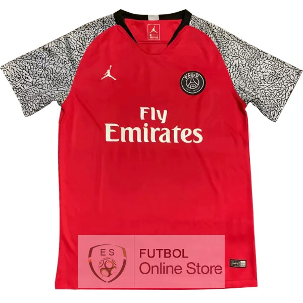 Entrenamiento Paris Saint Germain Rojo Gris 18/2019