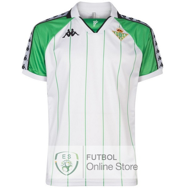 Retro Camiseta Real Betis 18/2019 Blanco