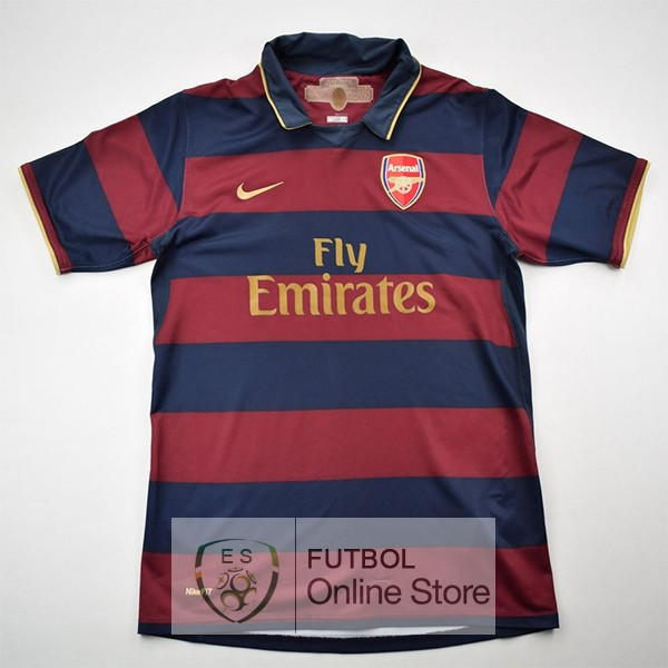 Retro Camiseta Arsenal 2007/2008 Primera