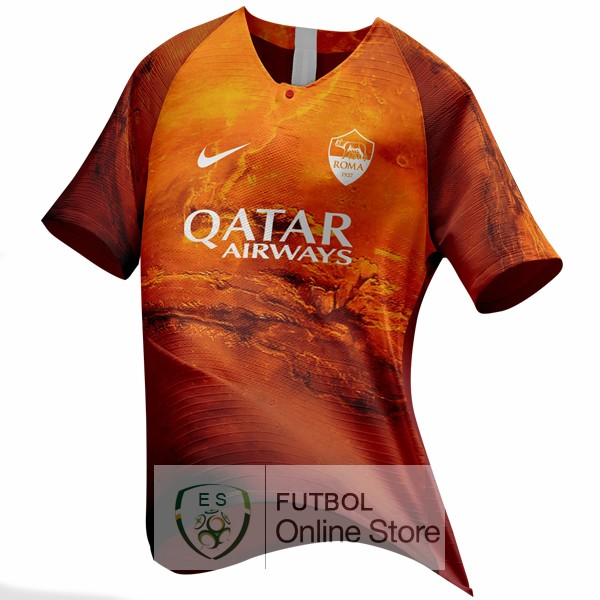 EA Sport Camiseta As Roma 18/2019 Naranja