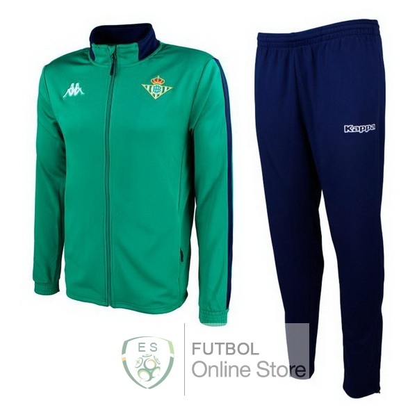 2018/19 Verde Negro Chaqueta Ensemble Complet Real Betis