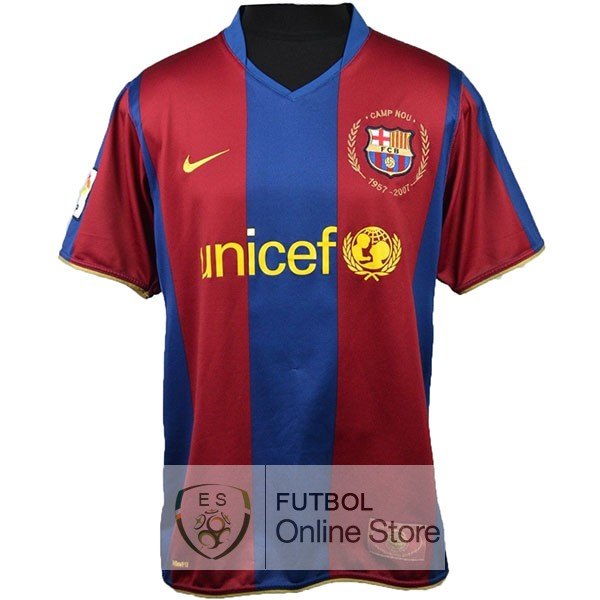 Camiseta Barcelona 50th Azul Rojo