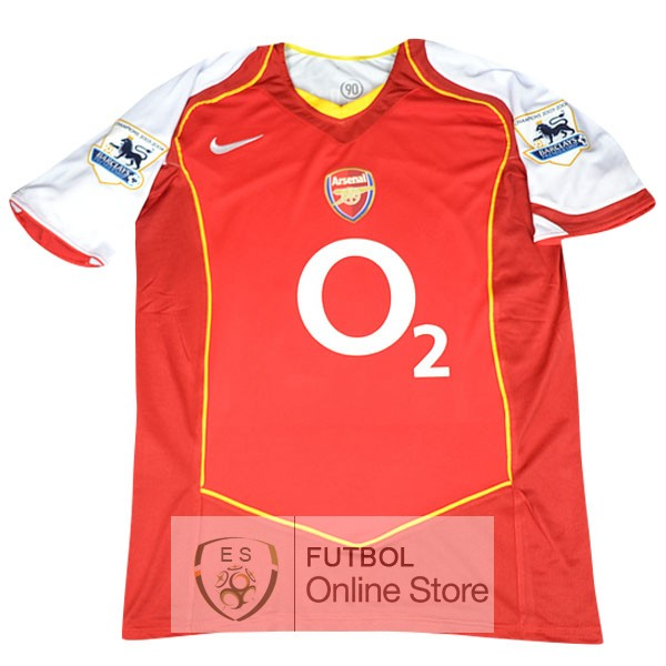 Retro Camiseta Arsenal 2004 2005 Primera