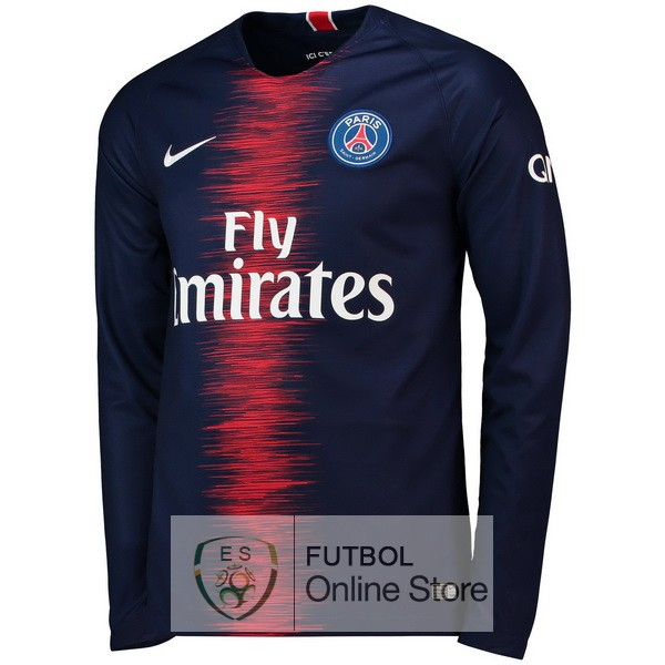 Camiseta Paris Saint Germain 18/2019 Manga Larga Primera