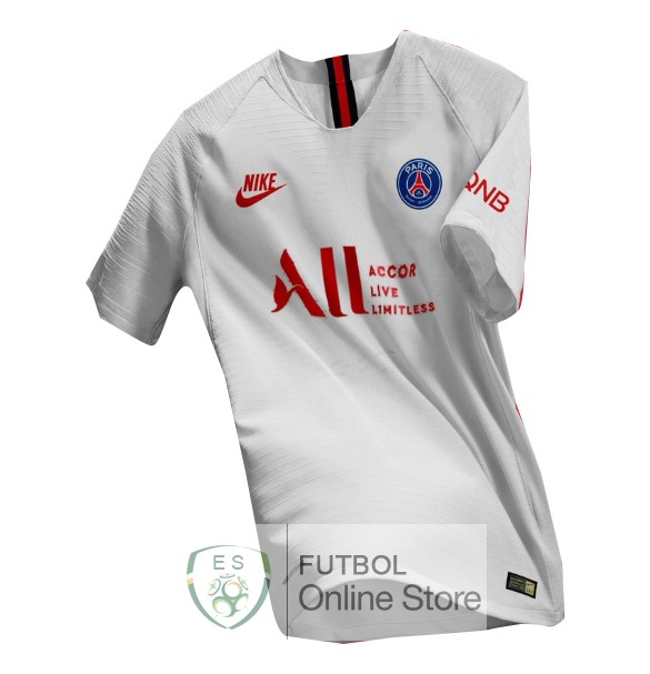 Concepto Camiseta Paris Saint Germain 19/2020 Blanco