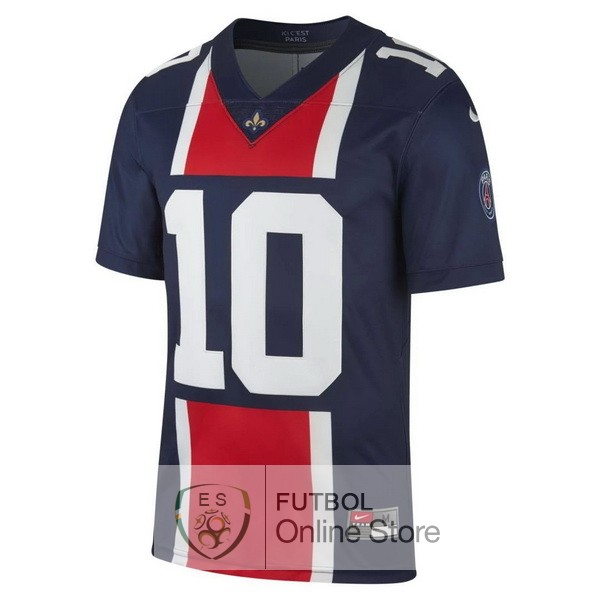 NFL NEYMAR Camiseta Paris Saint Germain 19/2020 Azul