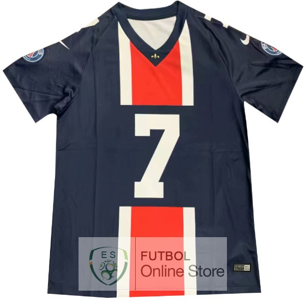NFL MBAPPE Camiseta Paris Saint Germain 19/2020 Azul