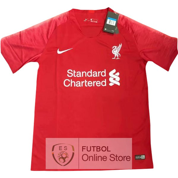 f9bf8f3bad8d6 Tailandia Camiseta Liverpool 19 2020 Primera Rojo