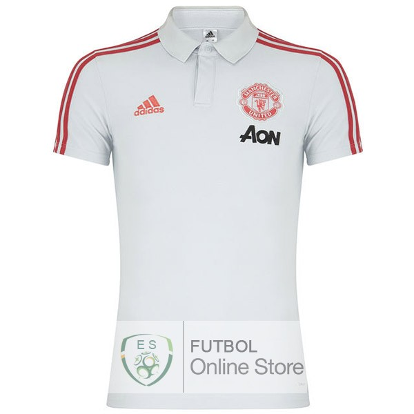 Polo Manchester United Blanco 19/2020
