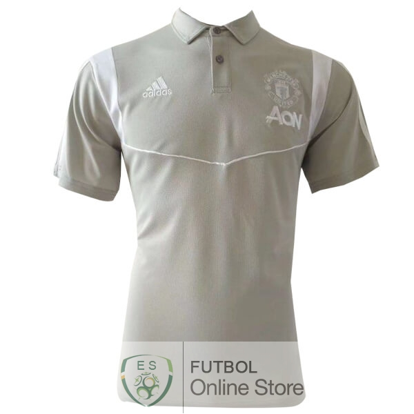 Polo Manchester United Gris 19/2020