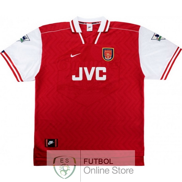 Retro Camiseta Arsenal 1997 1998 Primera