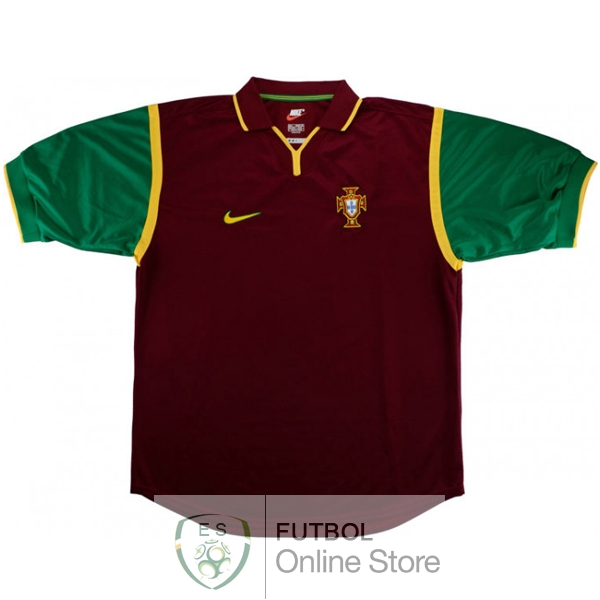 Retro Camiseta Portugal 1999 Primera