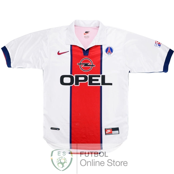 Retro Camiseta Paris Saint Germain 1998 1999 Segunda