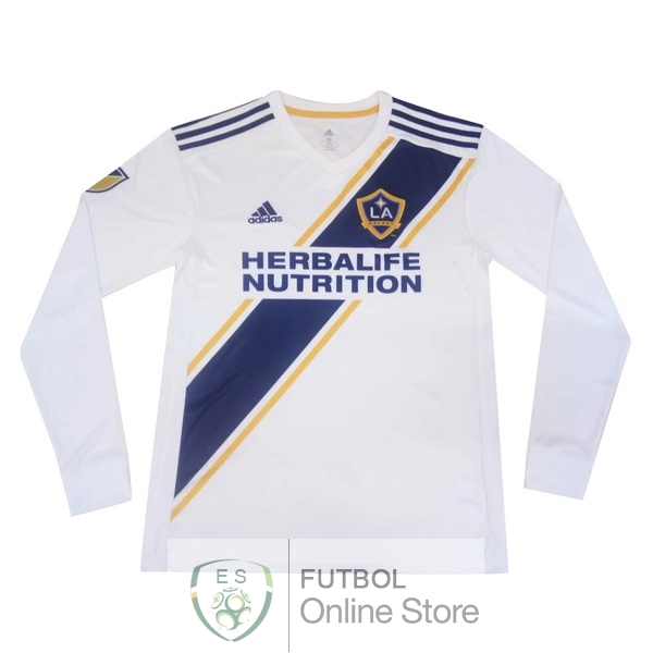 Camiseta Los Angeles Galaxy 19/2020 Manga Larga Primera