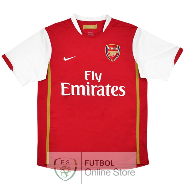 Retro Camiseta Arsenal 2006 2008 Primera