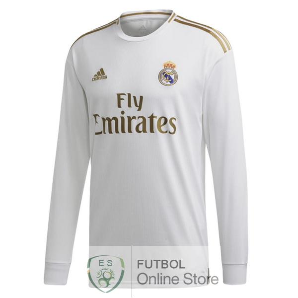 840d0ba8 Camiseta Real Madrid 19/2020 Manga Larga Primera