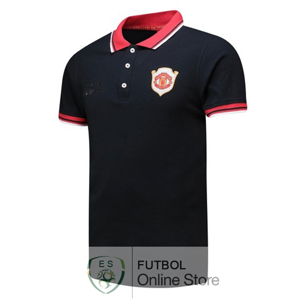Polo Manchester United Negro 20th