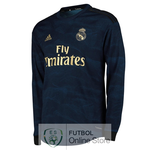 cc73d0f8c4d Camiseta Real Madrid 19/2020 Manga Larga Segunda