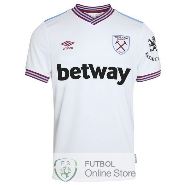 Camiseta West Ham United 19/2020 Segunda