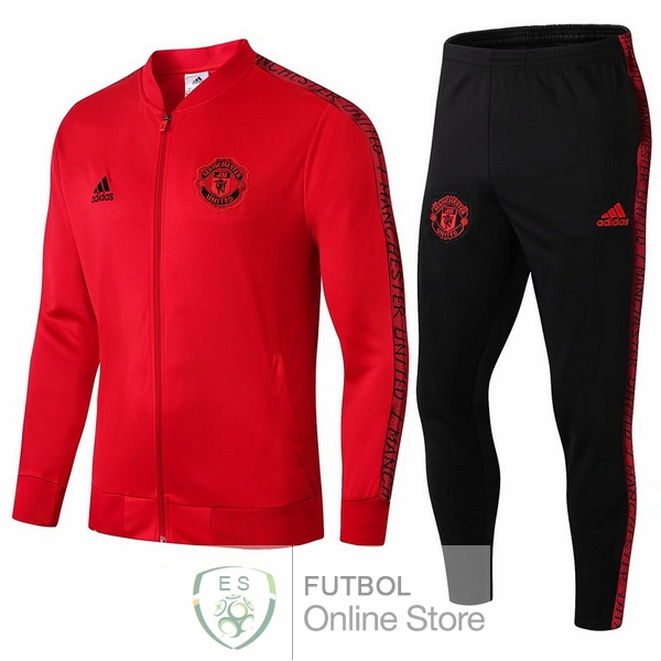 2019/20 Rojo Chaqueta Ensemble Complet Manchester United
