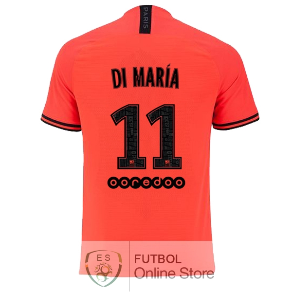 Camiseta Di Maria Paris Saint Germain 19/2020 Segunda
