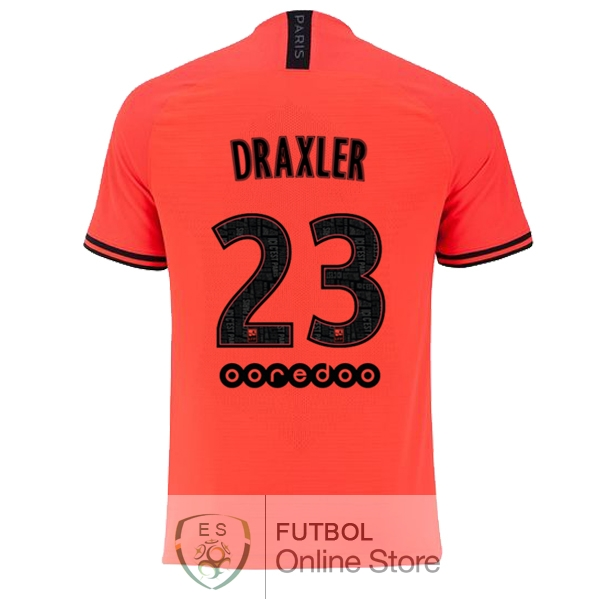Camiseta Draxler Paris Saint Germain 19/2020 Segunda