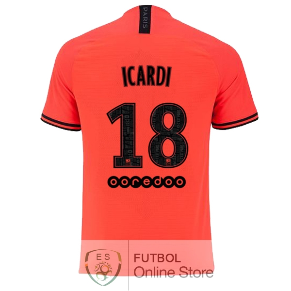 Camiseta Icardi Paris Saint Germain 19/2020 Segunda