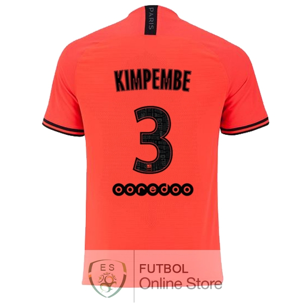 Camiseta Kimpembe Paris Saint Germain 19/2020 Segunda