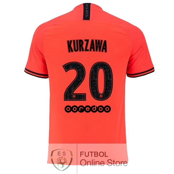 Camiseta Kurzawa Paris Saint Germain 19/2020 Segunda