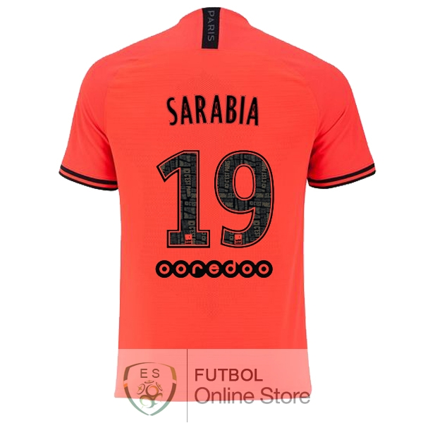 Camiseta Sarabia Paris Saint Germain 19/2020 Segunda