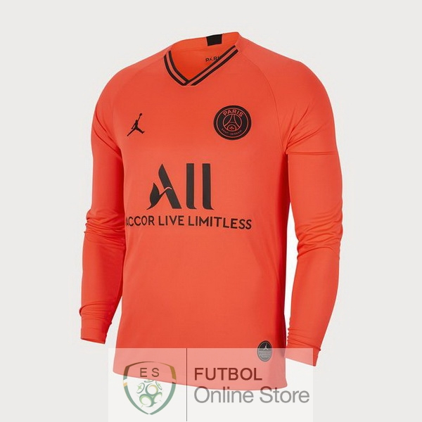 Camiseta Paris Saint Germain 19/2020 Manga Larga Segunda