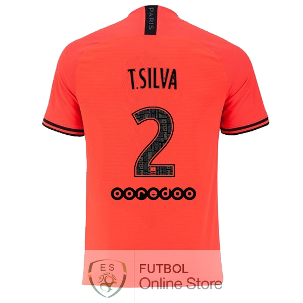 Camiseta T.Silva Paris Saint Germain 19/2020 Segunda