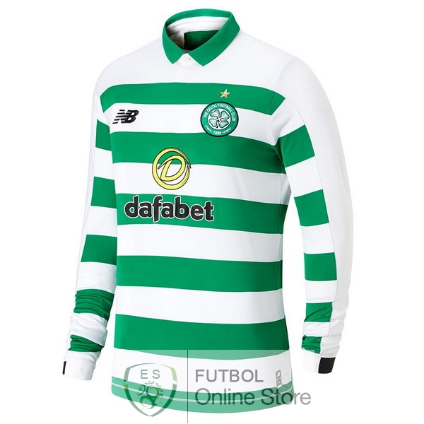 Camiseta Celtic 19/2020 Manga Larga Primera
