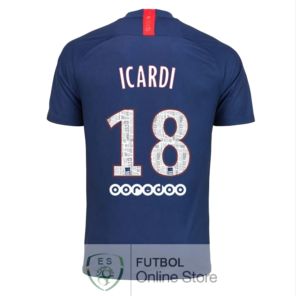 Camiseta Icardi Paris Saint Germain 19/2020 Primera