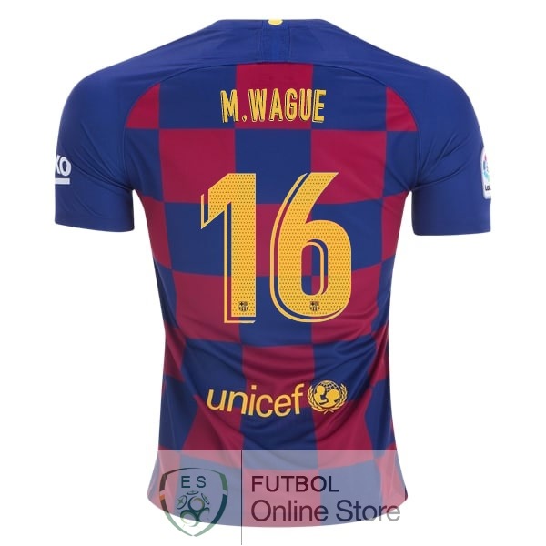 Camiseta Wague Barcelona 19/2020 Primera