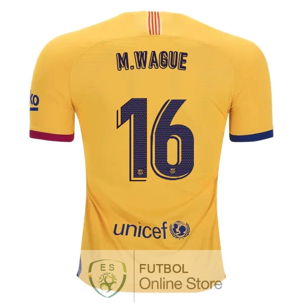 Camiseta Wague Barcelona 19/2020 Segunda