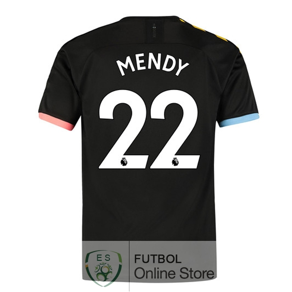 Camiseta Mendy Manchester city 19/2020 Segunda