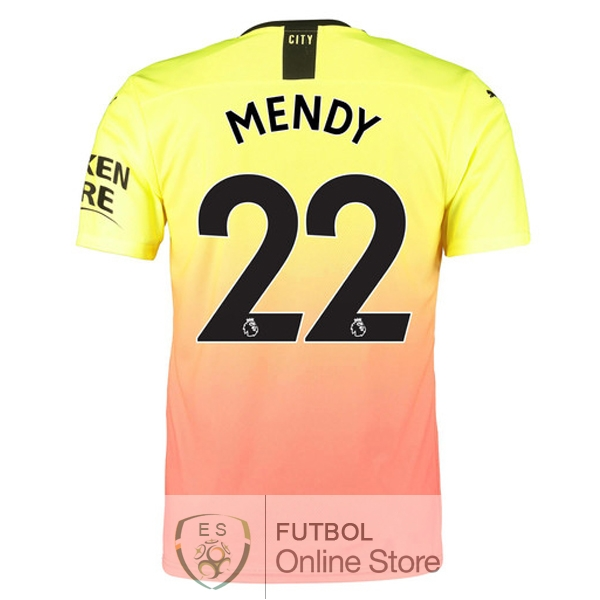 Camiseta Mendy Manchester city 19/2020 Tercera