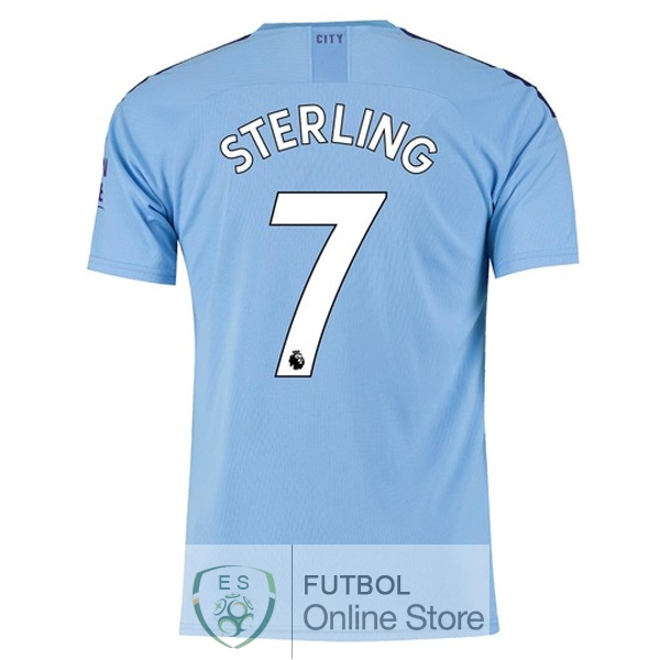 Camiseta Sterling Manchester city 19/2020 Primera