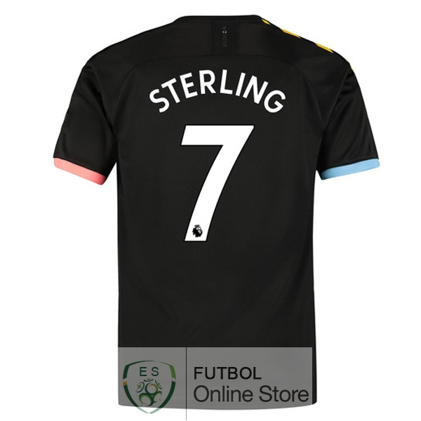 Camiseta Sterling Manchester city 19/2020 Segunda