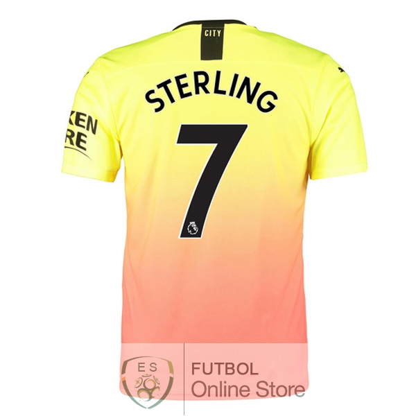 Camiseta Sterling Manchester city 19/2020 Tercera