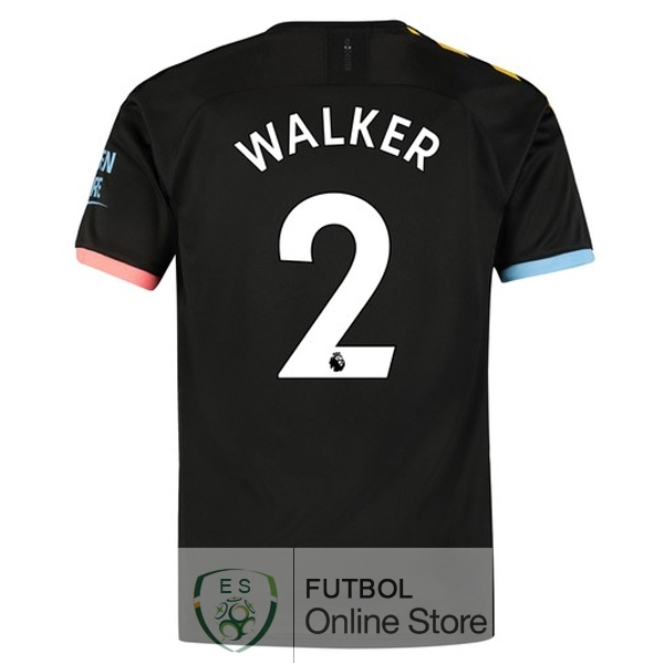 Camiseta Walker Manchester city 19/2020 Segunda