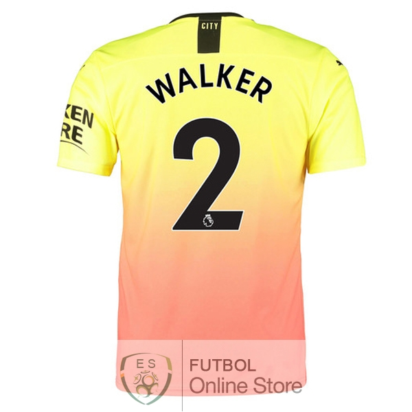 Camiseta Walker Manchester city 19/2020 Tercera