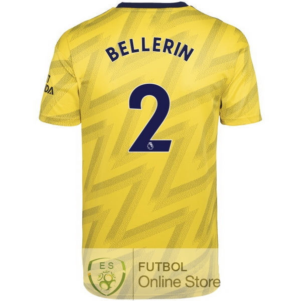 Camiseta Bellerin Arsenal 19/2020 Segunda