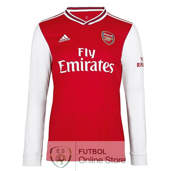 Camiseta Arsenal 19/2020 Manga Larga Primera