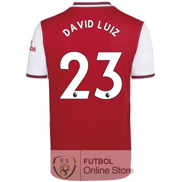 Camiseta David Luiz Arsenal 19/2020 Primera