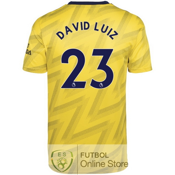Camiseta David Luiz Arsenal 19/2020 Segunda