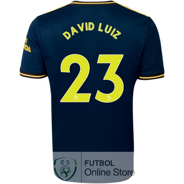 Camiseta David Luiz Arsenal 19/2020 Tercera