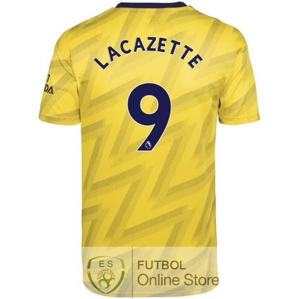 Camiseta Lacazette Arsenal 19/2020 Segunda