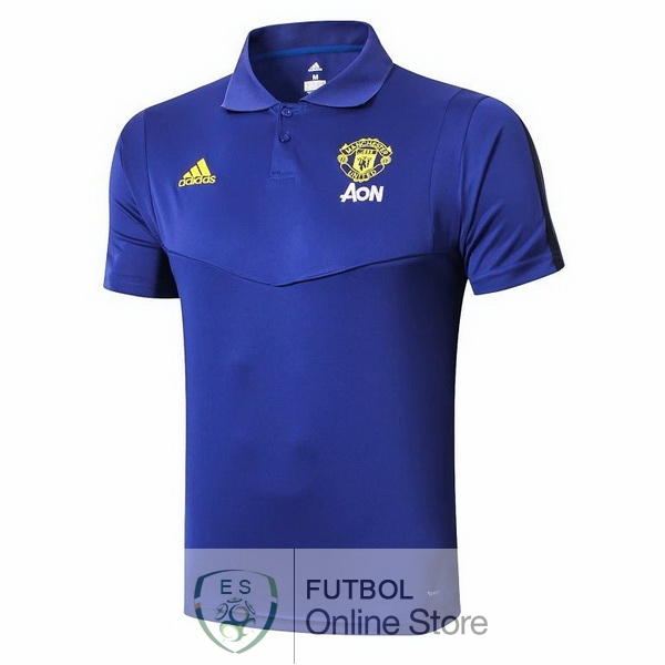 Polo Manchester United Azul 19/2020